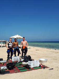 beach Dive briefing Tauchen Marsa Assalaya Egla Marsa Alam discover local guide