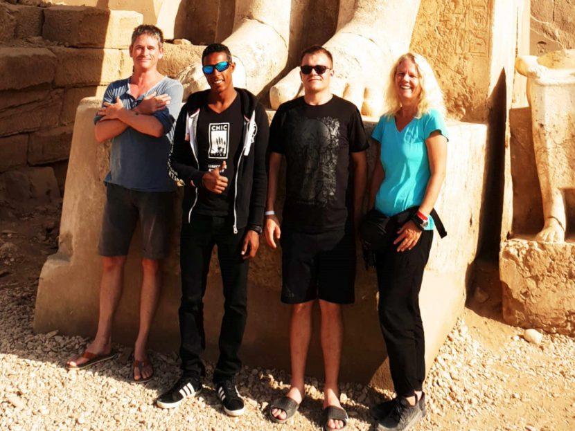 discover Gruppe Luxor Marsa Alam local guide tauchen entdecken