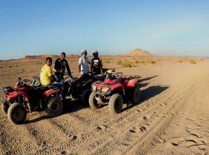 Quadtour Marsa Alam Gruppenreise Wüste
