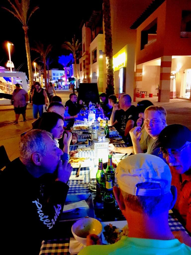 Port Ghalib Dinner