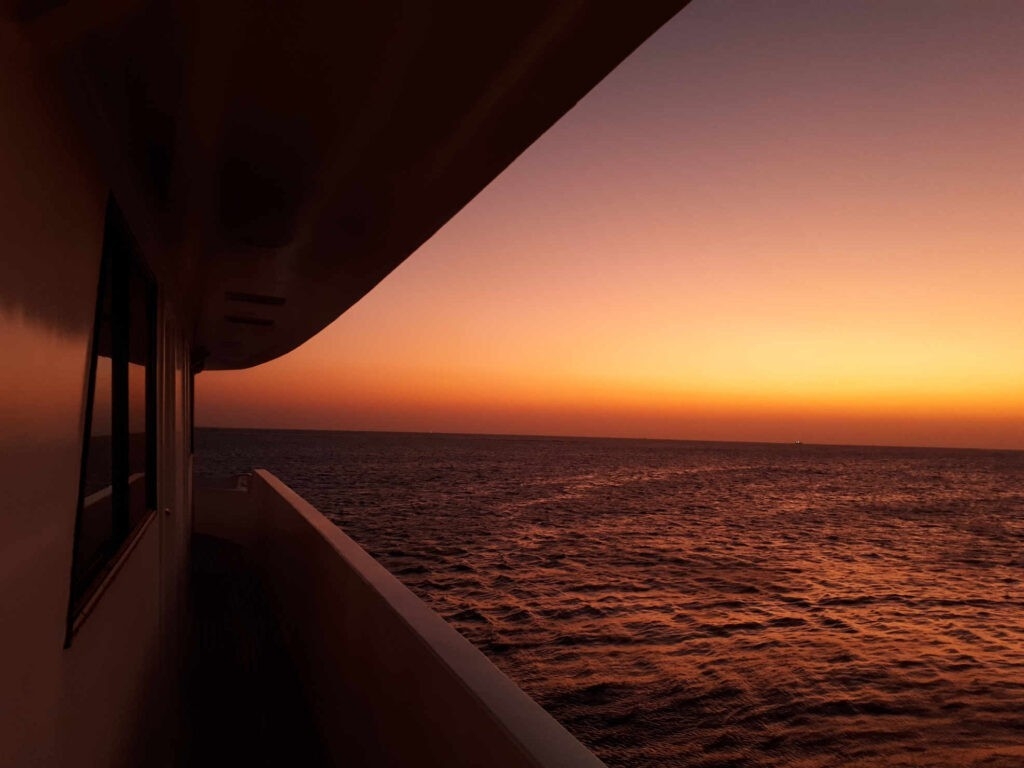 Sunrise Red sea